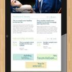 Bloomfield Hills Homepage on Tablet
