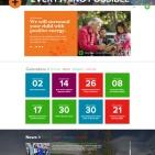 Pike School Homepage Design