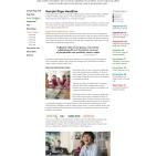 Pike School Interior Page Design