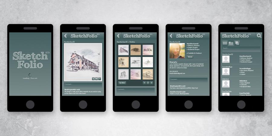 SketchFolio App