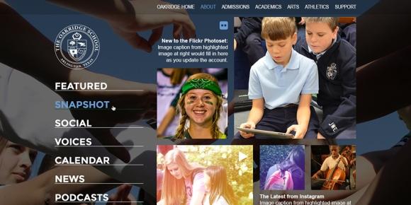 The Oakridge School Media Mash-Up Page