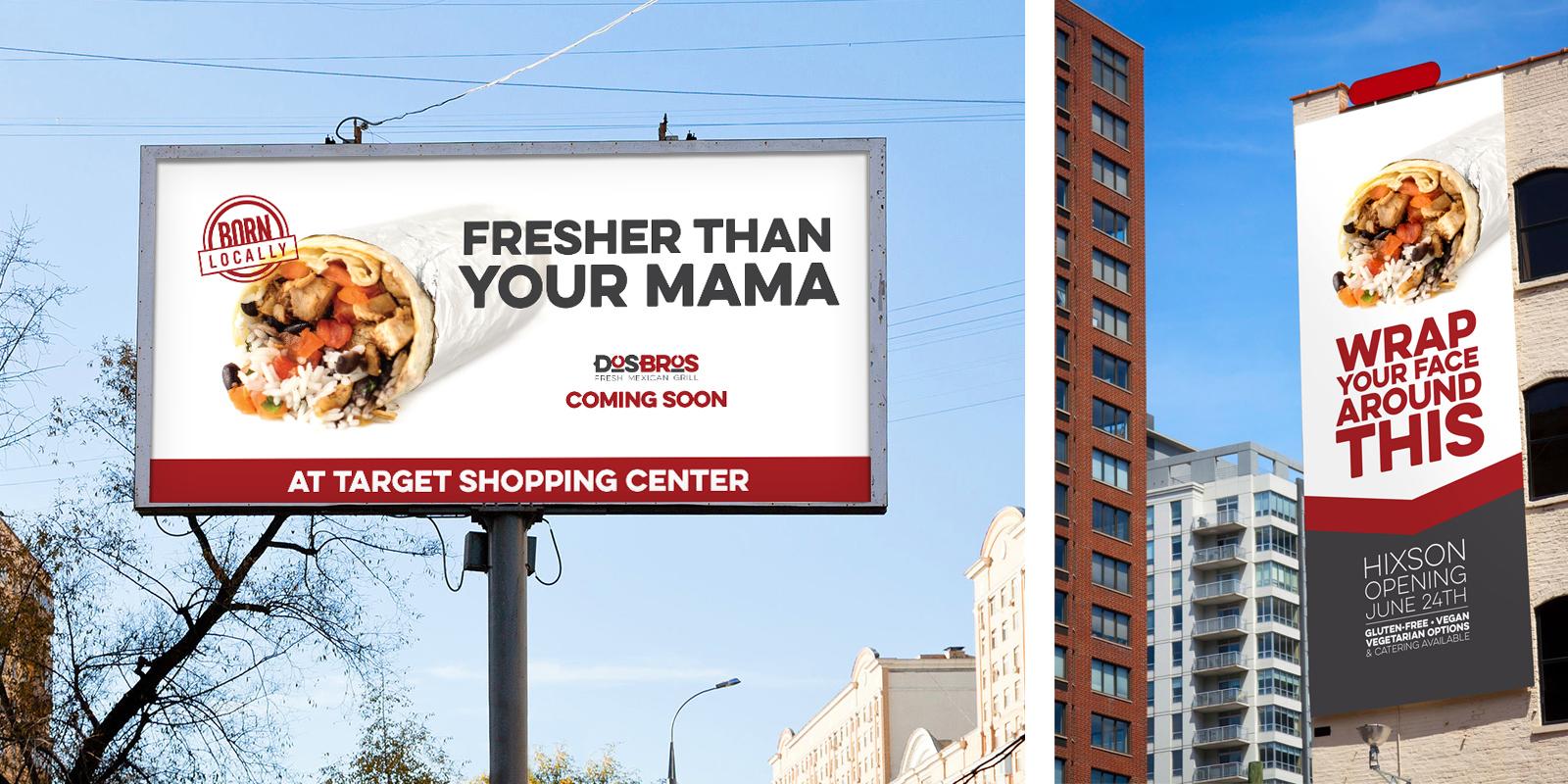Dos Bros Outdoor Advertising