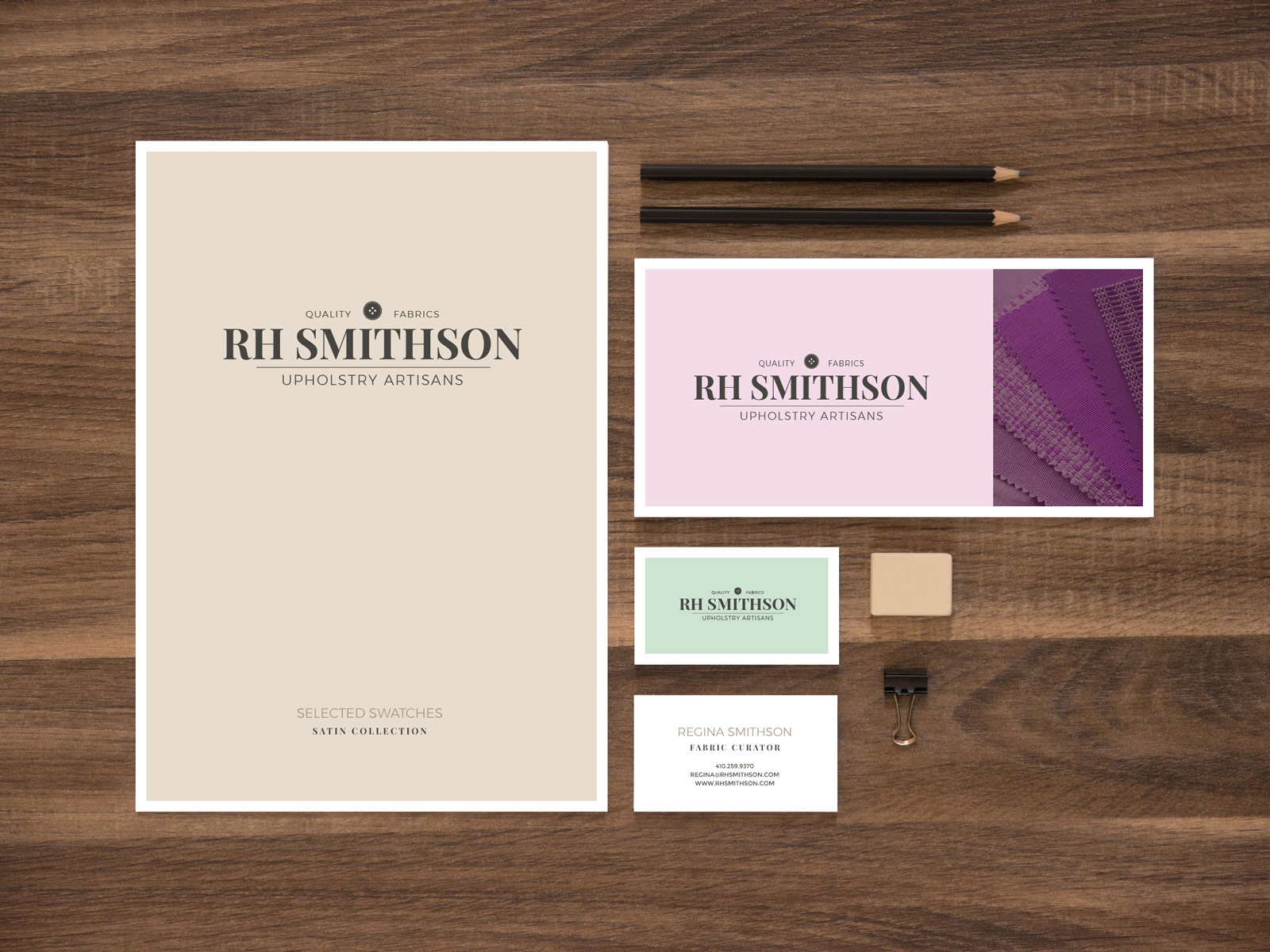 RH Smithson Print Collateral - Brian Behm Design