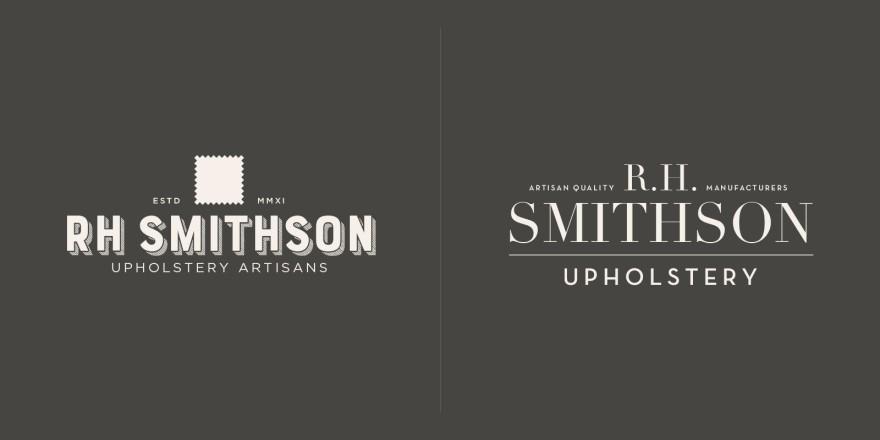 RH Smithson Logo Alternates - Brian Behm Design