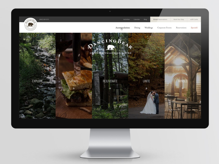 Dancing Bear Lodge and Appalachian Bistro