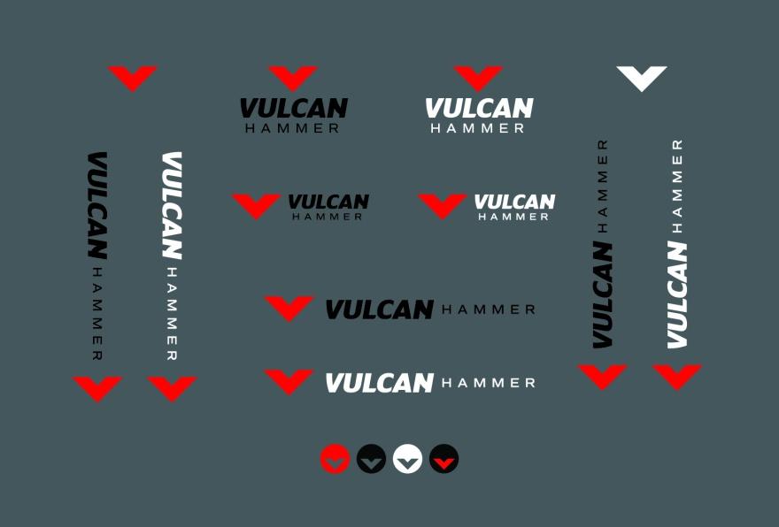Vulcan Hammer Brand Assets
